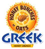 Honey Bunches of Oats Greek logo
