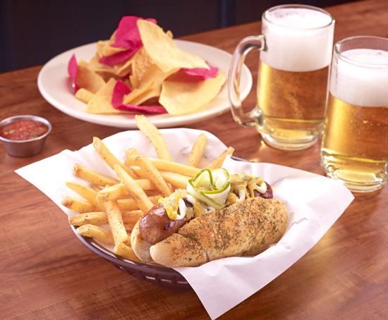 TGI Fridays, Taste of New York, Madison Hotdog