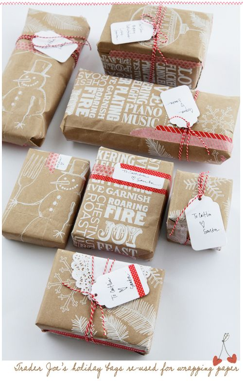 Quilternity's Place: Christmas Gift wrapping ideas...