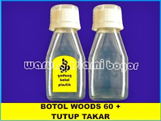 Jual Botol Plastik PET 60ml