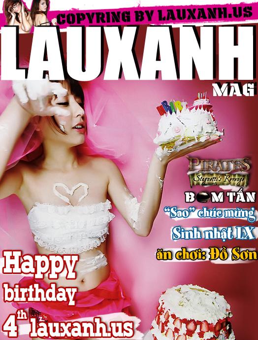 Magazines Tạp Chí ngưới lớn Việt Nam 18+ LAUXANH số 7