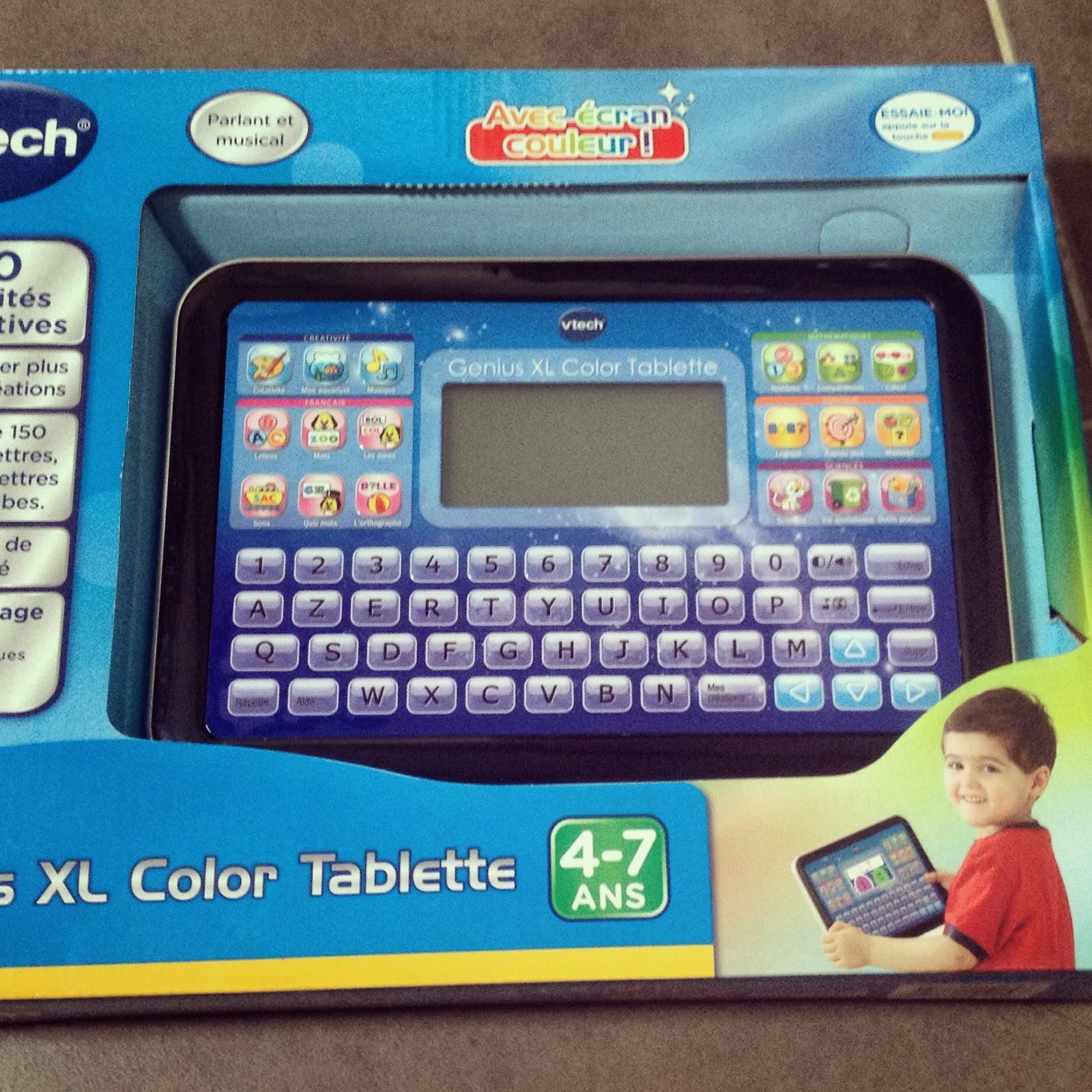 gnius xl color tablette test - Genius Xl Color