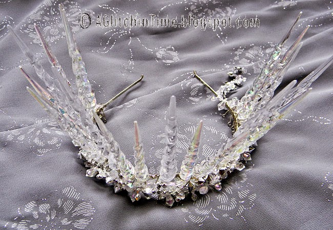 Ice Faerie Queen Crown