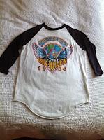 vintage van halen t-shirt 1984