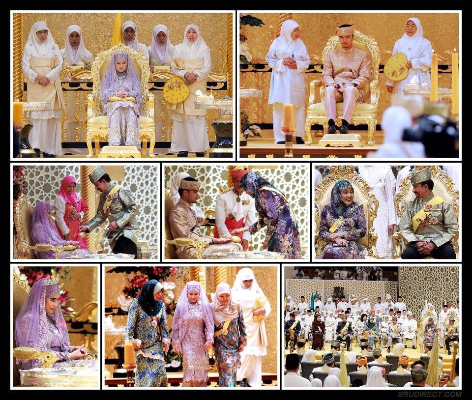 gambar kahwin anak sultan brunei 2015 check out gambar
