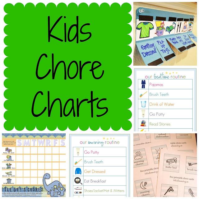 rantin amp ravin kids chore charts