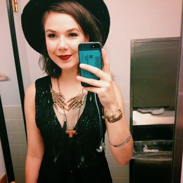 Nanna Bryndís Hilmarsdóttir Of Monsters and Men 2015 Saturday Night Live