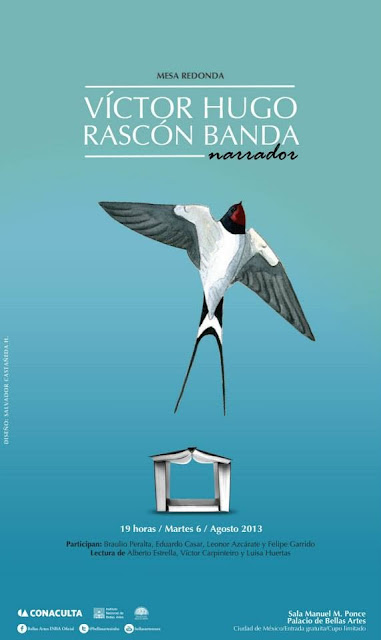 Recuerdan al dramaturgo mexicano Víctor H. Rascón Banda en Bellas Artes