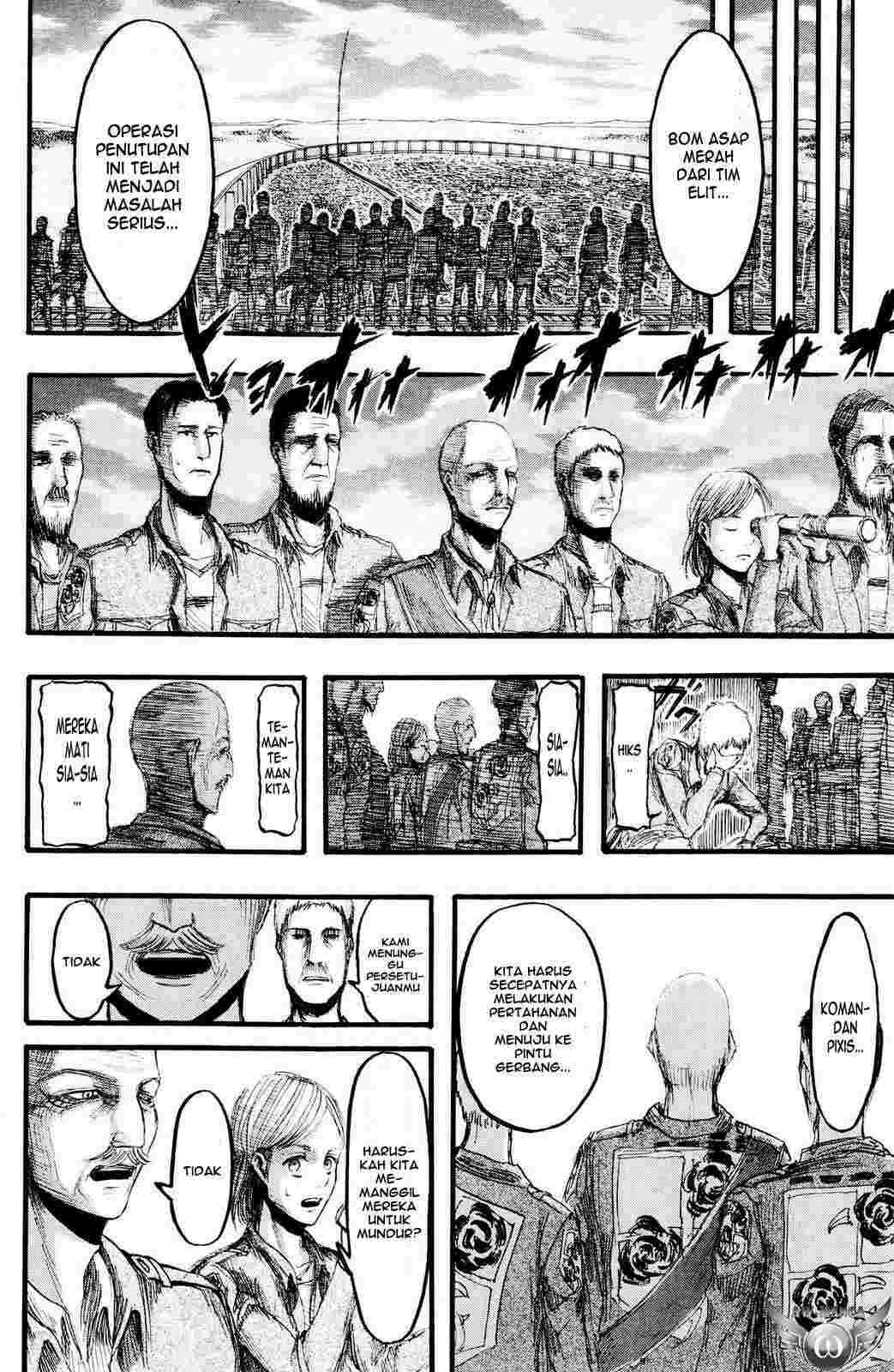 Komik shingeki no kyojin 013 - Luka 14 Indonesia shingeki no kyojin 013 - Luka Terbaru 11|Baca Manga Komik Indonesia|Mangaku