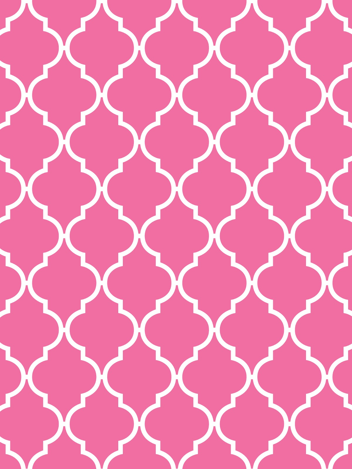 Julesoca blog quatrefoil gray pink baby blue sand for Gray and white wallpaper designs