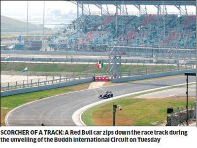 2011 F1 racing track in India