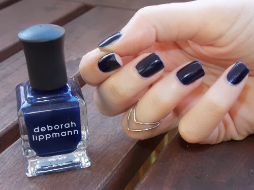 deborah lippmann rolling in the deep, nail polish rolling in the deep, rolling in the deep nail lacquer, blog beauté