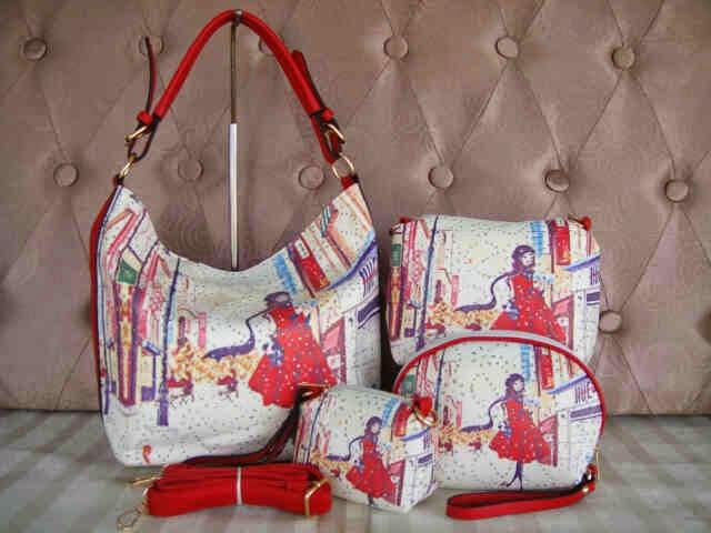 Tas Fashion 14749 (Red)