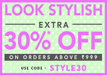 Jabong Diwali Stylish Sale : Flat 50% + Extra 30% OFF On Top Brands | Valid On Order Of Rs. 999
