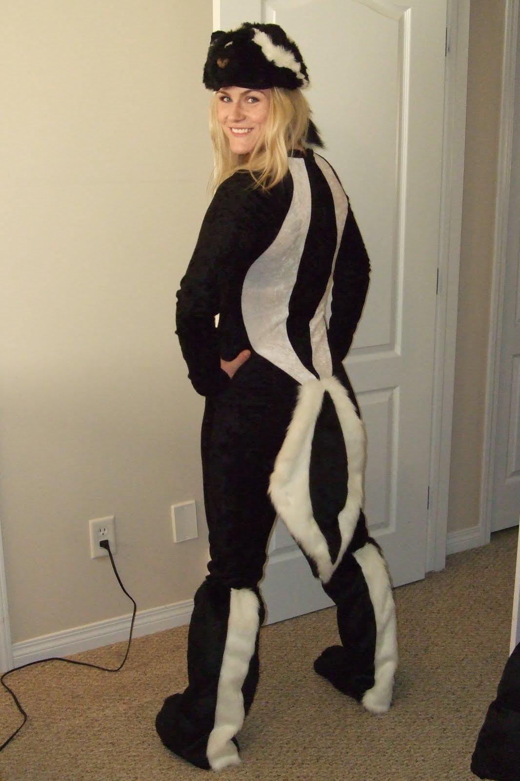 Karen's Skunk Costume