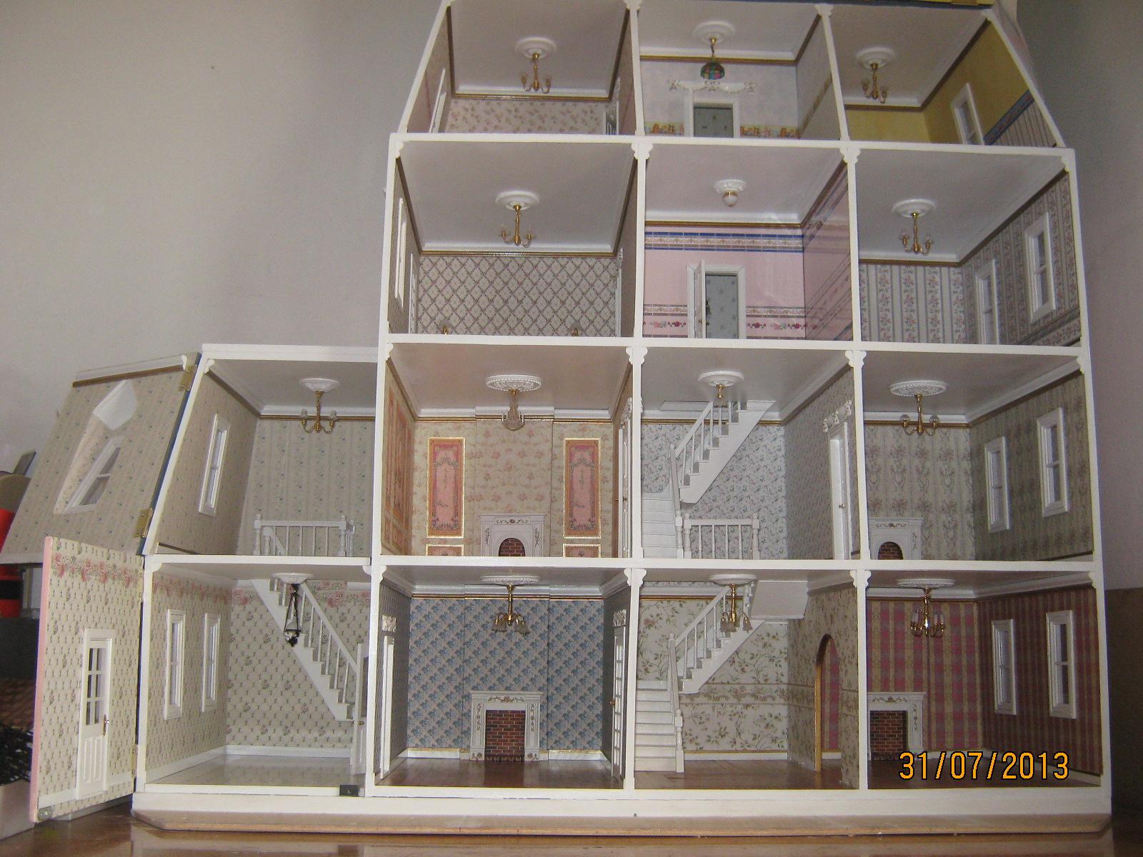 confeccion de las escaleras mansion