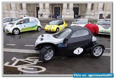 carros impulsados por electricidad