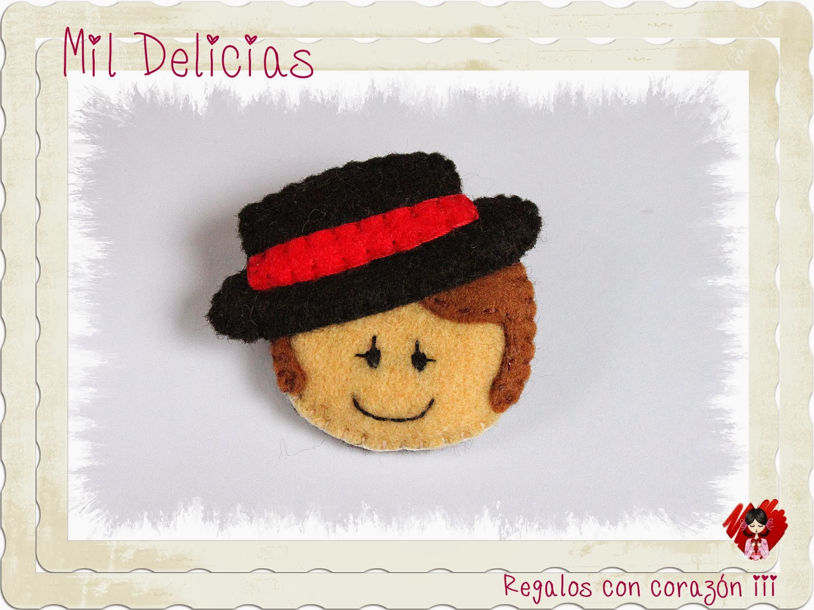 Broche flamenco