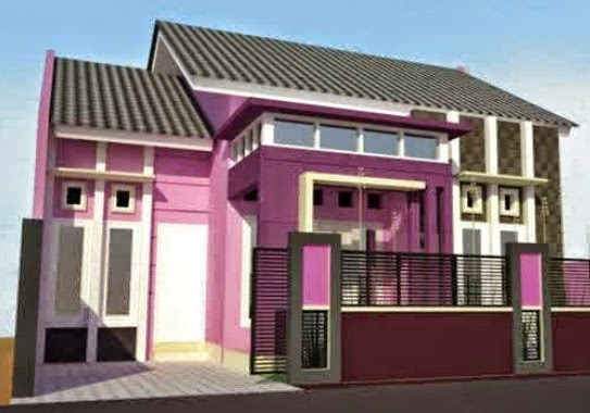warna cat rumah rumah minimalis 2015 new style for 2016 2017