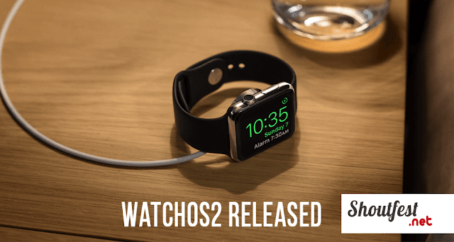 watch os 2 released