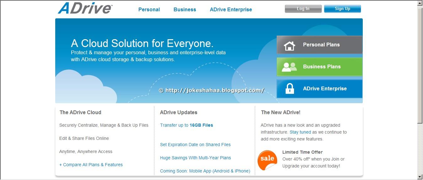 ADrive Website