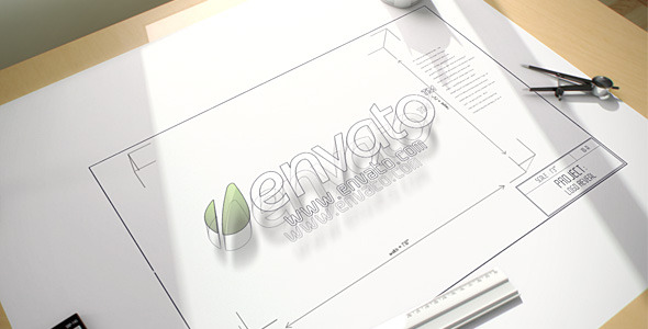 VideoHive Architect Logo Reveal