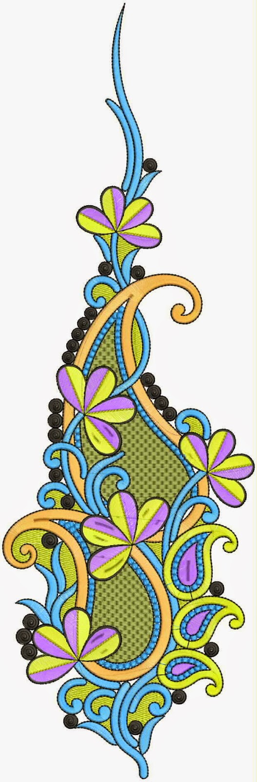 Embdesigntube korean style kali embroidery designs - Appliques exterieures ontwerp ...