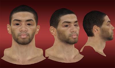 NBA 2K13 Nicolas Batum Cyberface Mods