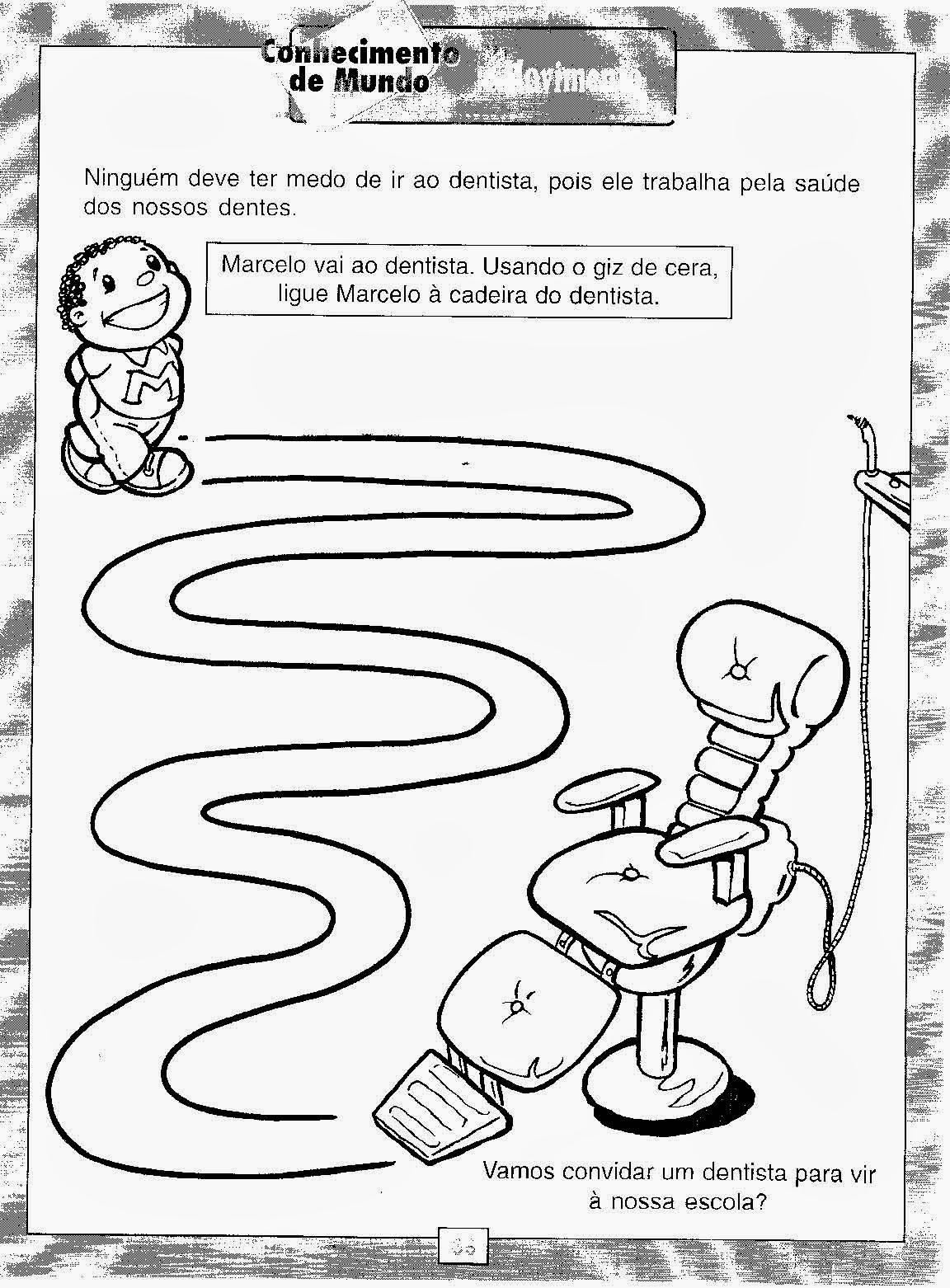 Excepcional Educar X: Atividades sobre higiene para educação infantil IZ38