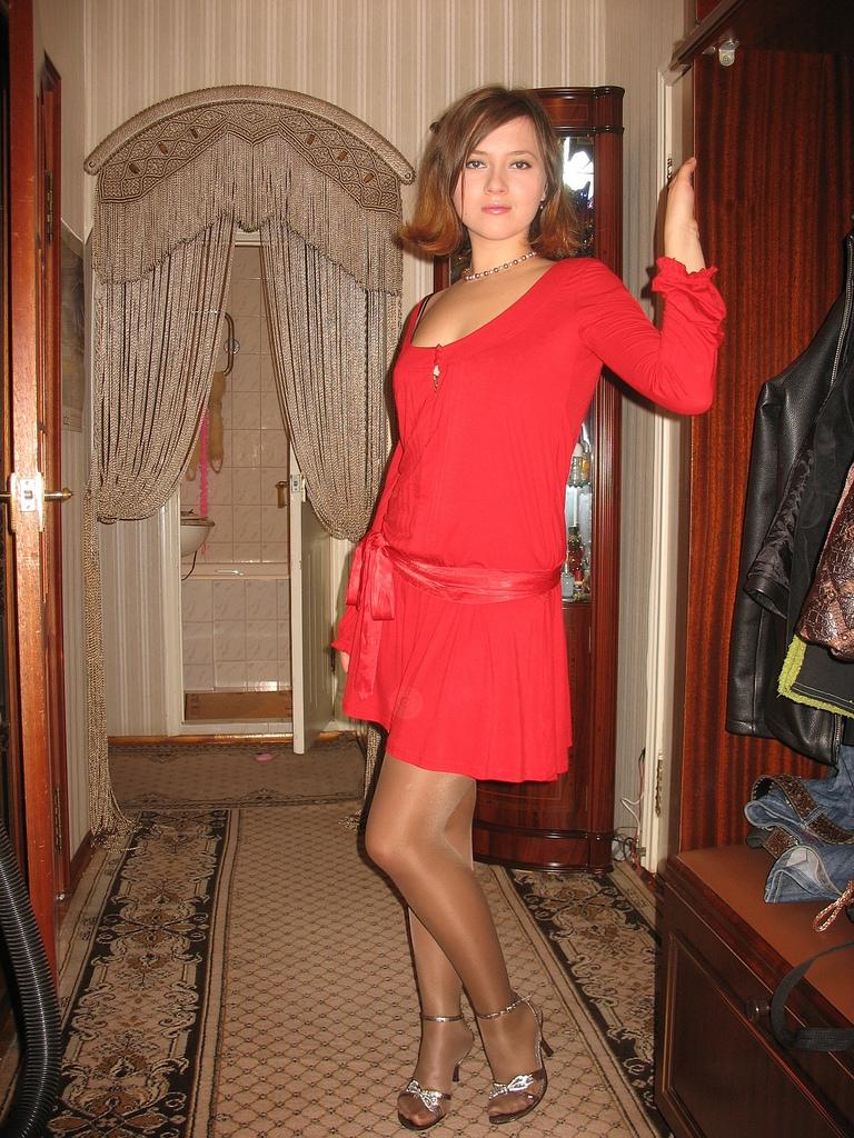 sexy sissy boy in stockings