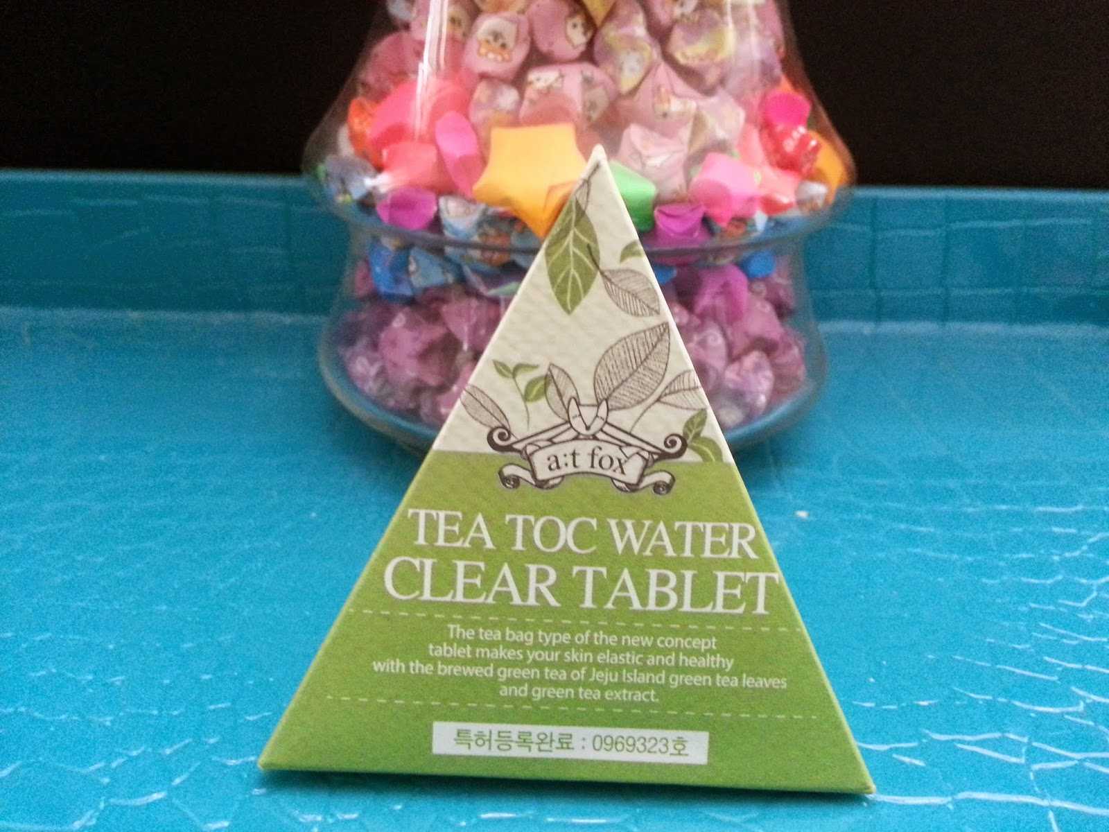 A;T Fox Tea Toc Water Clear Tablet