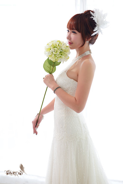 4 Yoon Seul in Wedding Dress-Very cute asian girl - girlcute4u.blogspot.com