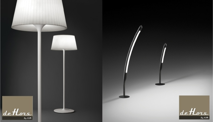 dehors design luminaires de chez vivia. Black Bedroom Furniture Sets. Home Design Ideas