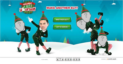 ElfYourself 2012 make another elf