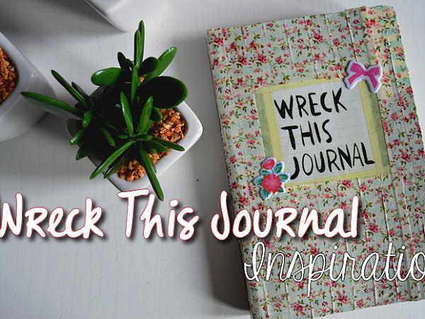 Wreck This Journal inspiratie