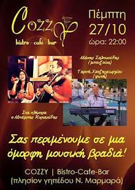 Cozzy Ν.Μαρμαράς live 27-10-16