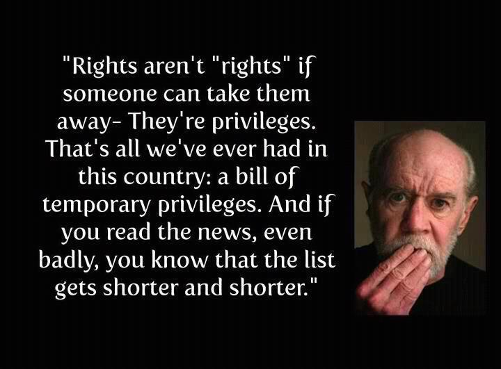 alienzenpower: George Carlin quotes