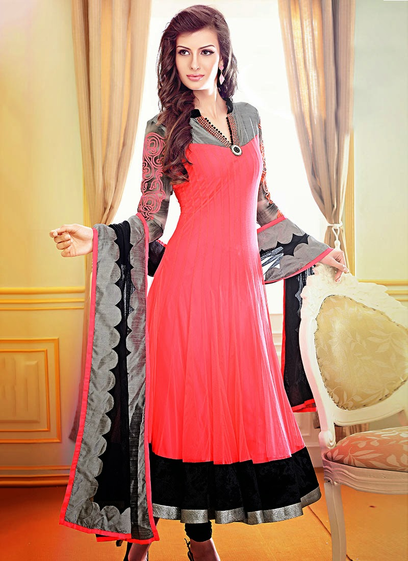 Gorgeous Fancy Wedding Anarkali Dresses 2013 Anarkali