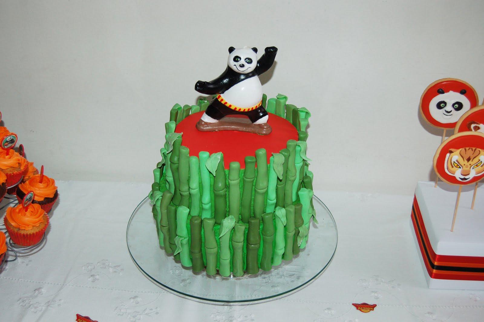 Decoraciónes de tortas de kung fu panda - Imagui