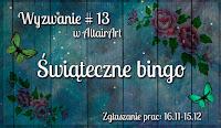 Wyzwanie #13: Świąteczne Bingo