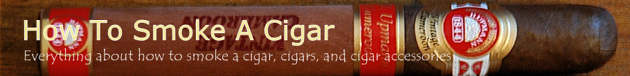 How To Smoke A Cigar