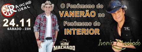 Rancho Rural - Igor Machado, Ivonir Machado, Itapema
