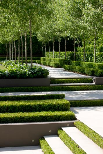 French garden sydney peter fudge for Landscape gardeners sydney