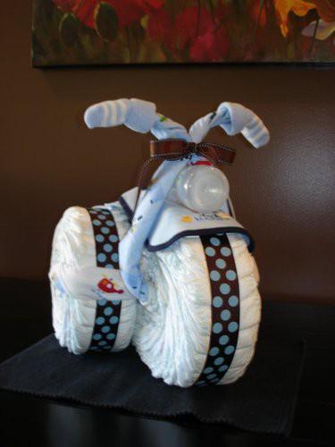 Ne-Yo: diaper motorcycle - baby shower gift