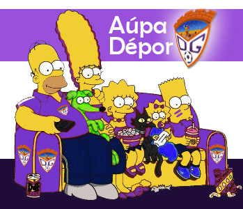 Los Simpsons son del Guadalajara Simpson_depor