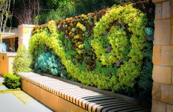 the nice green wall | Outdoor Furniture Vietnam