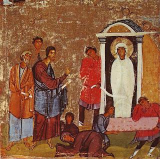 Gambar Kisah Mukjizat Yesus Menghidupkan Lazarus
