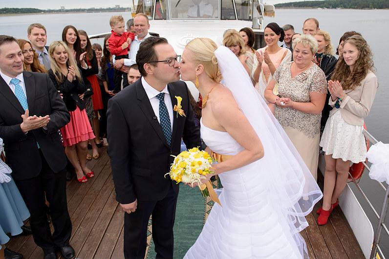 Vestuvės Kauno mariose