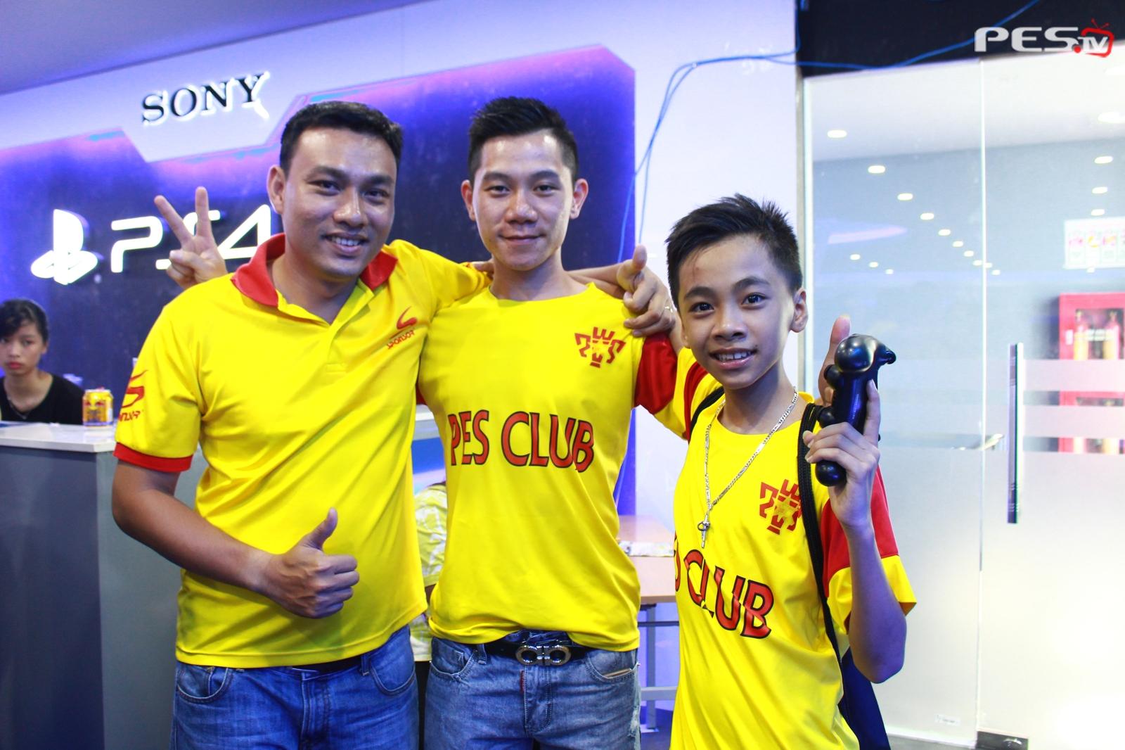 Bùi Thịnh Phát và Hiếu PES Club
