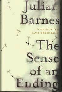 The Sense of an ending by Julian Barnes book cover and review